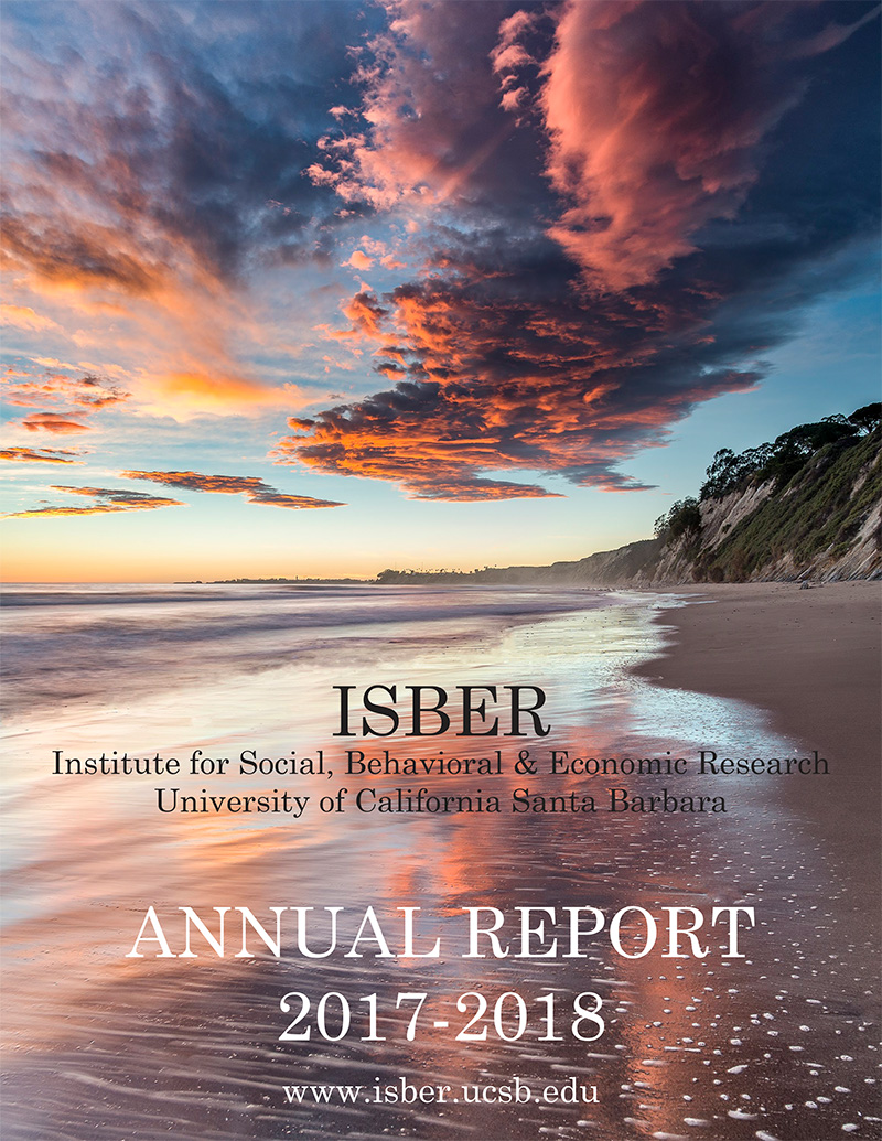 ISBER Annual Report - 2018 Cover Photo